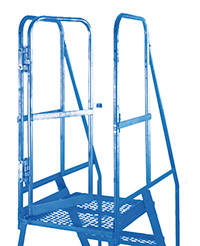 Fort Heavy Duty  Elite  Mobile Steps - Optional Inward Opening Gate for MS69 Units