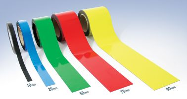 Magnetic Easy-Wipe Strip - Coloured - H.15mm x W.10M