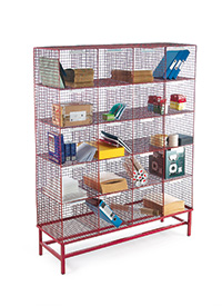 Static Mail Sorter - Post sorter and stand