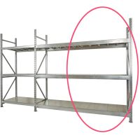 Galvanised Shelving Extension Bay     1950 High mm x 400mm Deep