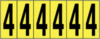 89x39mm Vinyl Cloth Numbers Card 4