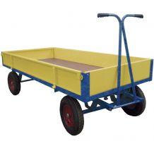 Hand Drawn Truck C/W Steel Sides/Ends - 2000 X 1000 - 400Mm Cushion