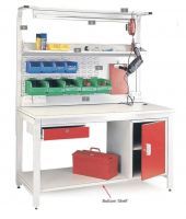 General Purpose Workbenches - Accessories - Lockable Cupboard - Left
