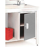 General Purpose Workbenches - Accessories - Lockable Cupboard - Right