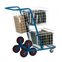 Mail Distribution Trolleys - Rear pannier basket  factory fitted