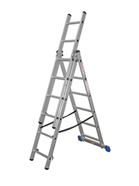 Professional Combination Ladder  No of Rungs  3 x 12