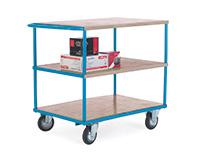 Shelf Truck - 3 Shelf - Push Handle