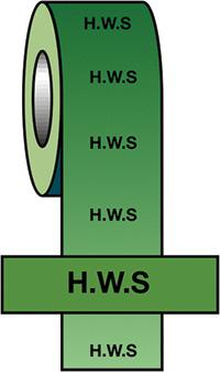50mmx33m H.W.S BS Pipeline Marking   Identification Tape