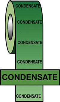 50mmx33m Condensate BS Pipeline Marking   Identification Tape