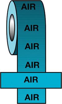 50mmx33m Air BS Pipeline Marking   Identification Tape