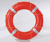 24  Lifebuoy with Reflective Tape