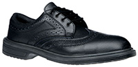 Brogue Leather Shoes - size 6