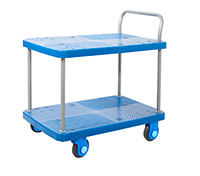 Proplaz Super Silent Two Tier Trolley