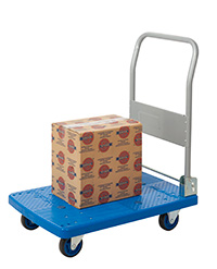 Proplaz Blue  Platform Trolley - 150kg Load Capacity