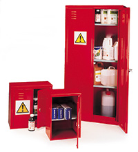 Pesticide/Agrochemical Storage Cabinets - PSC Range - Floor Stand