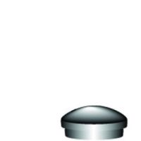 Plastic End Cap  Safety Sign