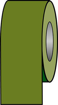 150mmx33m Green Pipeline Tape