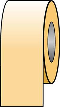150mmx33m Yellow Ochre Pipeline Tape