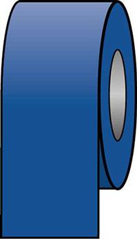 100mmx33m Blue Pipeline Tape