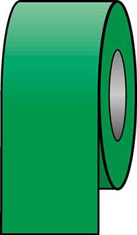 100mmx33m Emerald Green Pipeline Tape