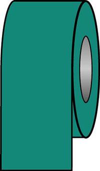 100mmx33m Sea Green Pipeline Tape