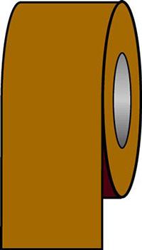 100mmx33m Golden Brown Pipeline Tape