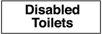 50x200mm Disabled toilets - rigid