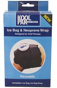 Ice Bag   Neoprene Wrap - 20.5 X 75.5 Cm Pk 16