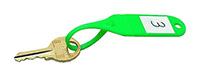 Reusable Key Tag - Green