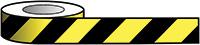 Reflective Self Adhesive Tape - 50mm x 25m Black   Yellow