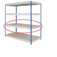 Heavy Duty Rivet Shelving - Shelves Only - 915mm  1220mm and 1525mm wide