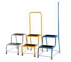 Steptek Robust Coloured Portable Steps