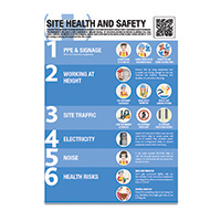 A2 Site Health and Safety Guidance Poster