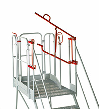 Fort Easy Slope Platform - Optional Retro-fit Lifting Barrier - Certified to BS EN 131 Professional