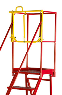 Fort Heavy Duty Vantage  Certified to BS EN 131 Professional Mobile Steps - Optional Retro-fit Lifting Barrier