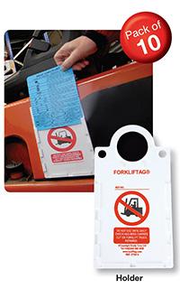 Scafftag Forkliftag Holders Pack of 10