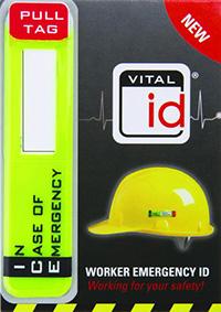 Worker Emergency ID Tag