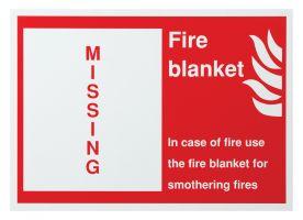 Fire Blanket Shadow Board Only