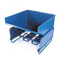 Tilting Skip/Truck - Volume  1000 litres / 500kg load capacity