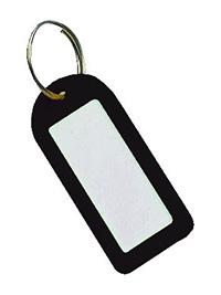 Key Tags Pk of 25 - Black