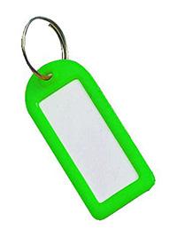 Key Tags Pk of 25 - Green