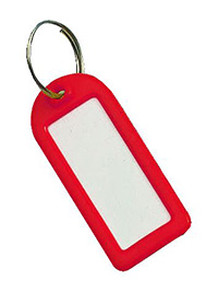 Key Tags Pk of 25 - Red