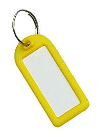 Key Tags Pk of 25 - Yellow