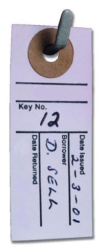 KEY LOCATION CARDS - PK500