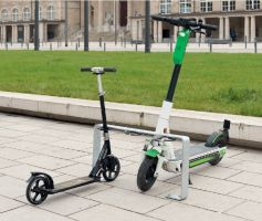 Scooter Parking Stand - Galvanised