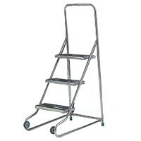 Fort Stainless Steel Tilt and Pull Steps - 3 Tread