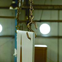 Brass Chain Kit   Safety Sign