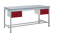 Taurus Utility Workbenches - Bench and 2 x Single Drawers - 1800 x 900
