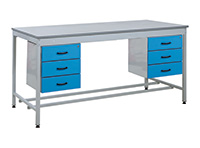Taurus Utility Workbenches - Bench and 2 x Triple Drawers - 1800 x 900