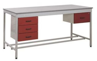 Taurus Utility Workbenches - Bench  Single Drawer and Triple Single Drawer - 1800 x 900